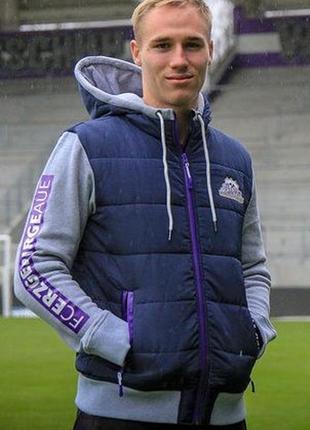 Теплая спортивная мужская куртка германия
