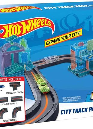 Набор трек Hot Wheels City Track Pack Bundle Хот вилс Оригинал