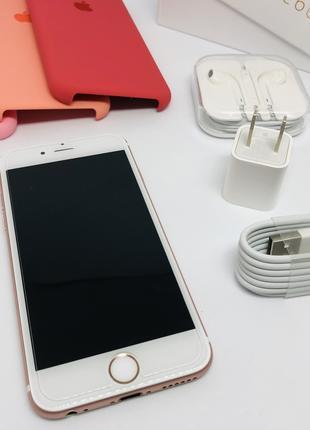 IPhone 6S 32GB, Rose Gold, Neverlock, Полный Комплект