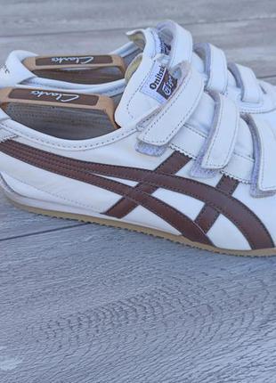 Asics мужские кроссовки кожа оригинал осень