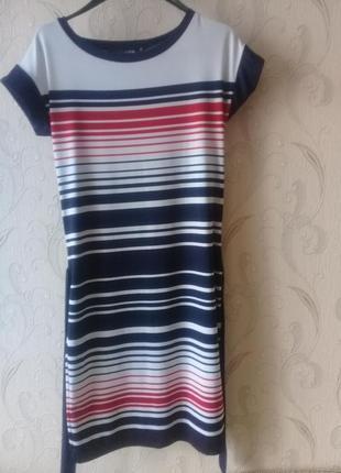 Стильное женское трикотажное платье ostin