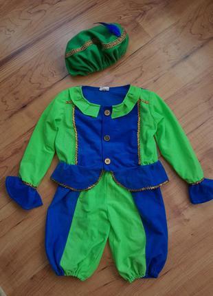 Карнавальный костюм принц паж на 3-5 лет