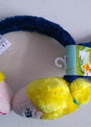 Комплект перчатки наушники tink fairies disney at abg оригинал...