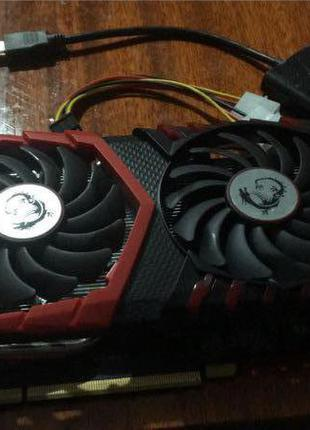 Видеокарты MSI PCI-Ex GeForce GTX 1050 Ti GAMING X 4GB GDDR5 (128