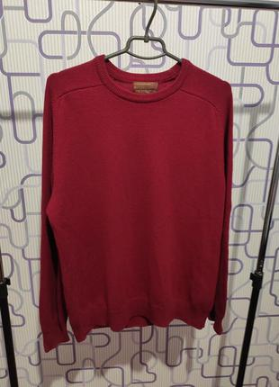 Шерстяной свитер 100% шерсть