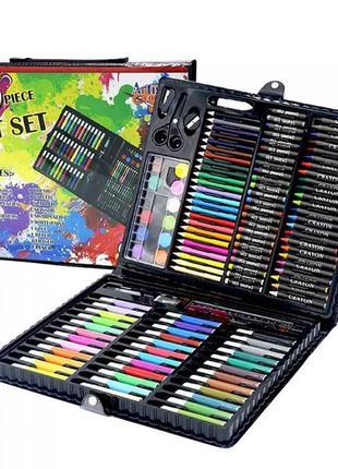 Детский набор для творчества и рисования в чемоданчике 150