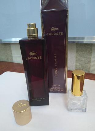 Оригинал lacoste pour femme elixir, парфюмированная вода, расп...
