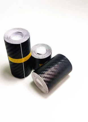 Карбоновая пленка 3D, под карбон черн. 7cm X 3m