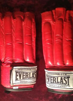 Перчатки для ММА, Самбо, Рукопашного боя Снарядные Шингарты Everl