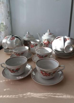 Чайный сервиз,СССР