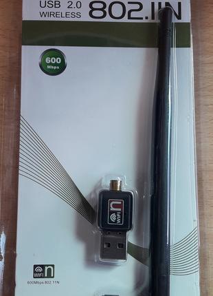 USB Wi-Fi сетевой адаптер Dellta Wi Fi 802.11n 600Mb