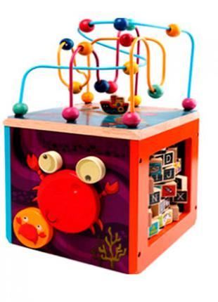 Деревянная  игрушка  центр развивающий  MD 2604