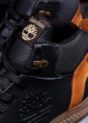 Зимние мужские кроссовки 31383 ► timberland sensorflex, черные