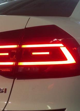 Задние фонари Volkswagen Passat B8 USA (16-19) тюнинг Led оптика