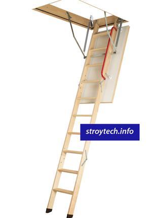 Лестница чердачная деревянная LWK Plus для маленьких помещений