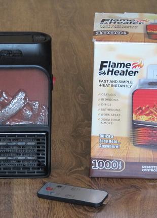 Электрообогреватель портативный мини FLAME Heater Flame дуйка