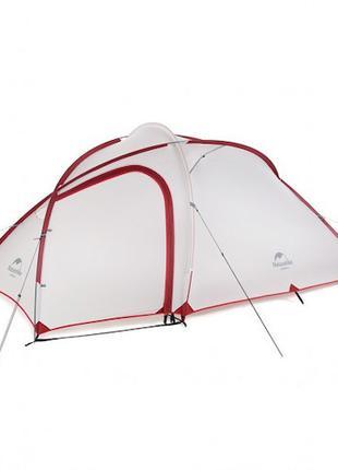 Палатка Naturehike Hiby 3 (updated) 20D нейлон gray