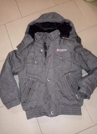 Зимняя куртка на мальчиков