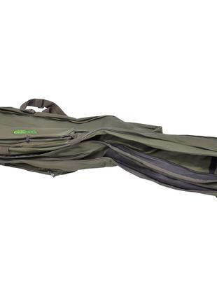 Чехол Carp Pro двухсекционный Green 1.30 м
