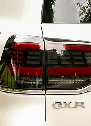 Задние фонари Toyota Land Cruiser 200 (15-19) тюнинг оптика