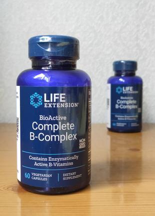 Биоактивный комплекс витаминов группы В, Life Extension
