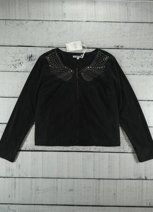 Куртка ветровка пиджак на молнии эко замша
