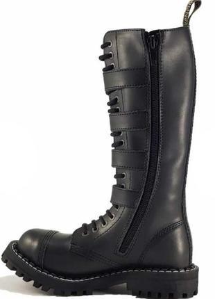 Ботинки сапоги берцы steel мартинсы армия готы панки рок