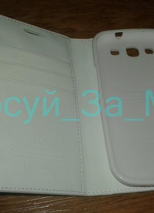 Чехол книжка Goospery для Samsung E210, M440 Galaxy S3,белый 150
