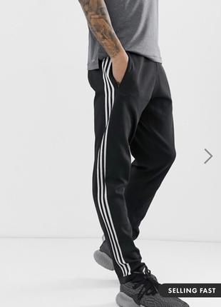 Черные спортивные штаны / джоггеры adidas id striker !