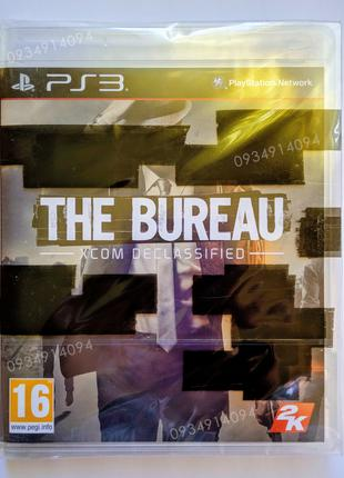 The BUREAU Xcom Declassified PS3 НОВЫЙ диск