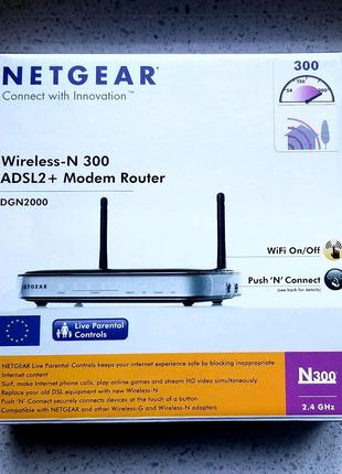 Модем роутер ADSL2  Netgear DGN2000