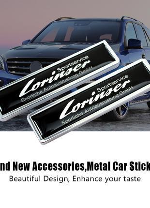 Эмблема наклейка шильдик Lorinser Mercedes Benz мерседес.