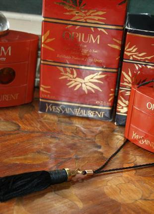 Винтаж opium yves saint laurent духи