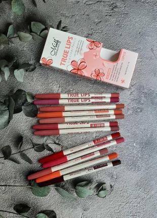 Набор матовых карандашей для губ от Menow