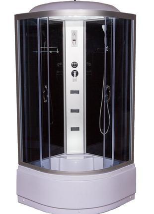 Душевой гидромассажный бокс VIVIA 95 R RC 90x90x215 с электрикой