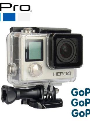 Аквабокс для GoPro Hero 3+ 3 4 | Подводный бокс для GoPro 3+ 3 4