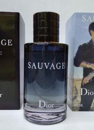 Мужская туалетная вода Dior SAUVAGE 100 мл. EDT