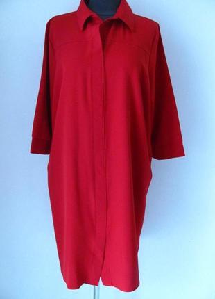 Платье прямое рубашечного кроя.впереди планка к низу разрез, к...