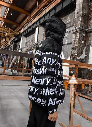 Зимняя куртка supreme x tnf