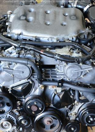 Разборка Infiniti M35 (Y50), двигатель 3.5 VQ35DE.