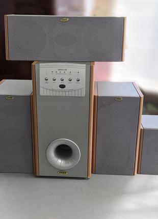 Система 5.1 (Мощность: 135 Вт) F&D IHOO-IR Beech