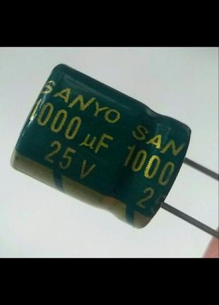 Конденсатор 1000мкф 25В (3шт)
