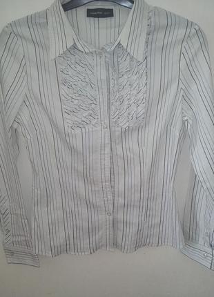 Caractere рубашка в полоску женская
