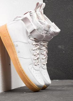 Nike air force mid- vast grey