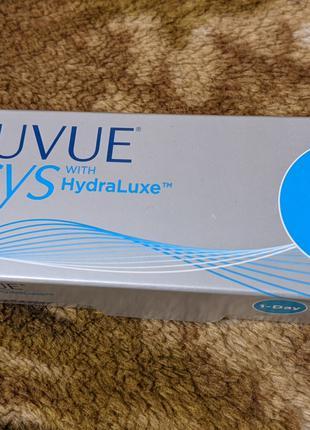 Контактные линзы Acuvue Oasys 1-Day with Hydraluxe 30шт