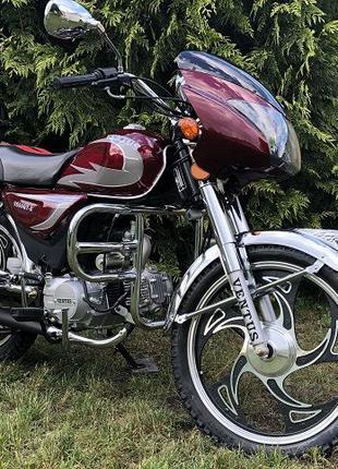 Новый мотоцикл (мопед) ALPHA Exclusive (Альфа) 110 см3! Доставка!