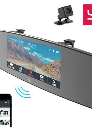 Видеорегистратор Xiaomi YI Mirror Dash Camera глобальная версия
