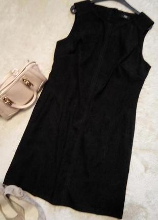 Платье классическое с боковыми карманами размер 10-12 f&f