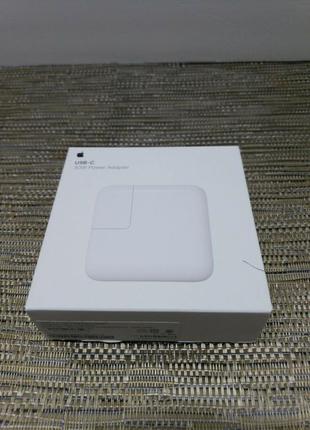 Оригинальное зарядное устройство Apple MacBook 30W