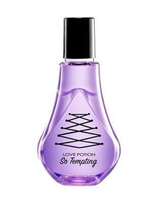 Парфюмированный спрей для тела love potion so tempting